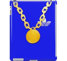 Old Skool Bling Chain - Blue iPad Case/Skin