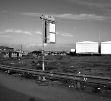 Ostia seafront: buildings by Giuseppe Cocco