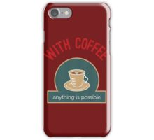 Coffee Typography iPhone Case/Skin