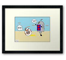 Bobby Running Framed Print