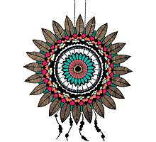 Dreamcatcher Mandala Photographic Print
