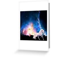Unicorn Greeting Card