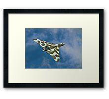 Avro Vulcan B.2 XH558 G-VLCN Framed Print