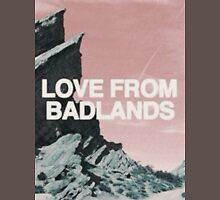 Halsey Badlands Landscape T-Shirt