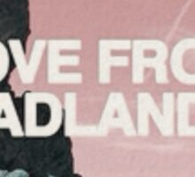 Halsey Badlands Landscape Sticker