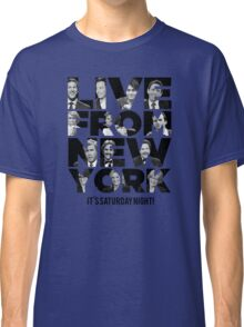 Live From New York, It's Saturday Night - Saturday Night Live Classic T-Shirt