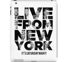 Live From New York, It's Saturday Night - Saturday Night Live iPad Case/Skin