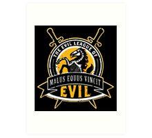 Evil League of Evil Art Print
