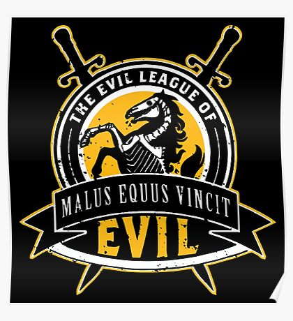Evil League of Evil Poster