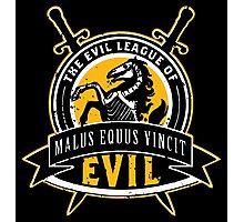 Evil League of Evil Photographic Print
