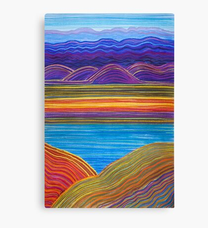 Perfect Pastels - Gulf and Ranges Canvas Print