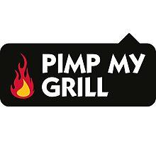 Pimp My Grill! Photographic Print