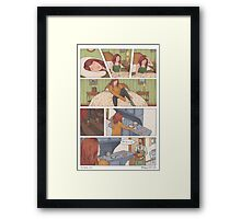 The Anchor and Owl - Page 3 Framed Print