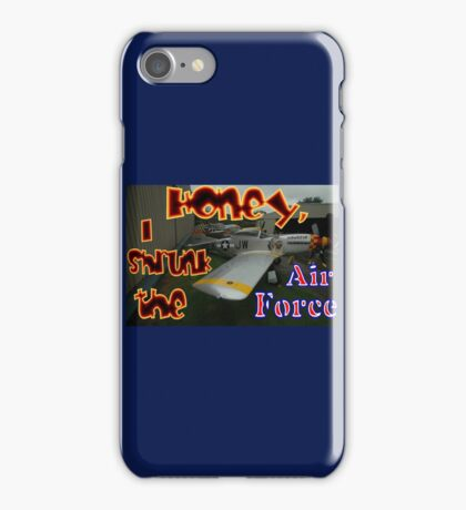 Honey, I Shrunk The Air Force, Tyabb 2012 iPhone Case/Skin