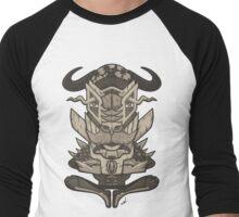 Buffalo Warrior Totem Men's Baseball ¾ T-Shirt