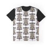 Buffalo Warrior Totem Graphic T-Shirt