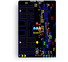 Pac-Man Killscreen Canvas Print