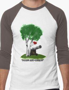 """Birches love cannons"" Men's Baseball ¾ T-Shirt"