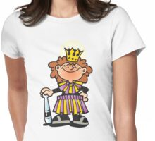 Mardi Gras Queen New Orleans NOLA Womens Fitted T-Shirt