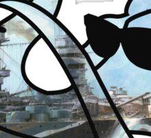 Funkmammoth Battleship Sticker