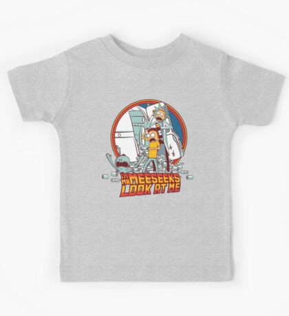 Back to the Meeseeks Kids Tee