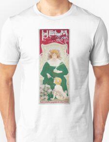 Vintage Art Nouveau Advertisement for Helm Cacao Unisex T-Shirt