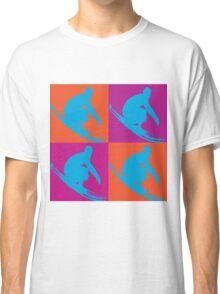 Surf Pop Art  Classic T-Shirt