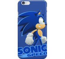 Sonic The Hedgehog Speed  iPhone Case/Skin