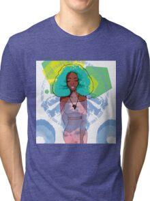 Afro Medley Tri-blend T-Shirt