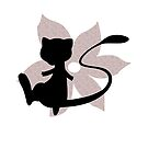 Mew Flower Silhouette by Cats 13