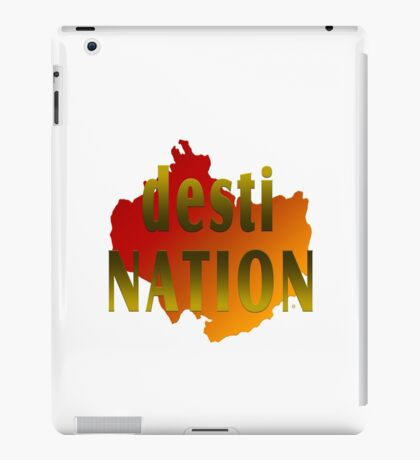 Travel To A Desti Nation iPad Case/Skin