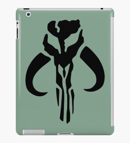Mandalorian (black) iPad Case/Skin