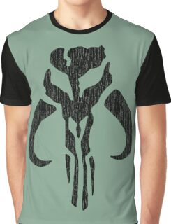 Mandalorian (black, distressed) Graphic T-Shirt