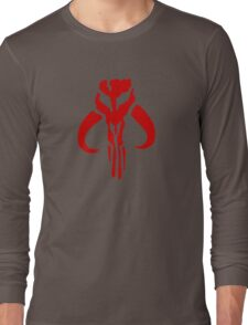 Mandalorian (red) Long Sleeve T-Shirt