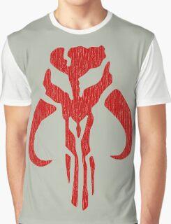 Mandalorian (red, distressed) Graphic T-Shirt