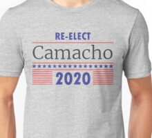 Re-Elect Camacho Stars and Stripes Unisex T-Shirt
