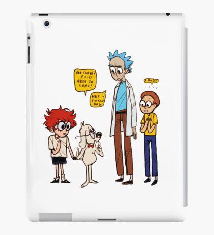 Rick Dialogue iPad Case/Skin