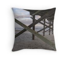 Sunset framing Throw Pillow