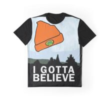 I Gotta Believe/X-Files Graphic T-Shirt