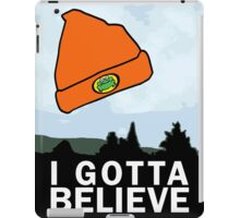 I Gotta Believe/X-Files iPad Case/Skin