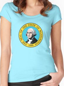 Washington State Women's Fitted Scoop T-Shirt