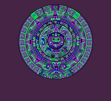 Psychedelic Mayan Calendar Unisex T-Shirt