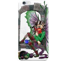 Knitting Fairy iPhone Case/Skin