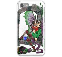 Knitting Fairy iPhone Case/Skin
