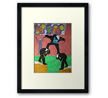 Musical Escape Framed Print