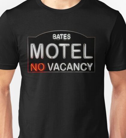 Bates Motel Sign Unisex T-Shirt