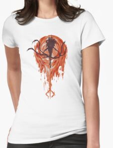 The Moon Presence Womens Fitted T-Shirt