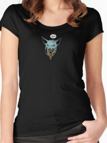 Saga - Lying Cat Women's Fitted Scoop T-Shirt