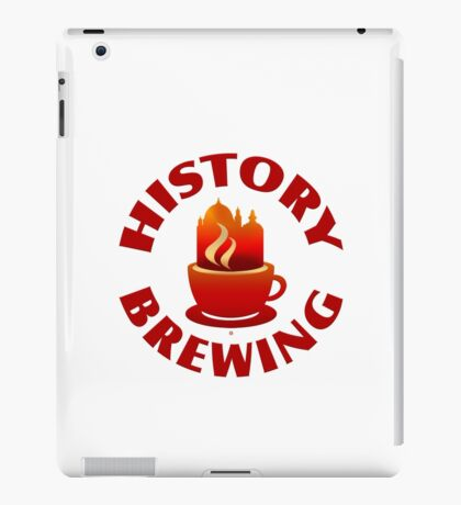 History Brewing iPad Case/Skin