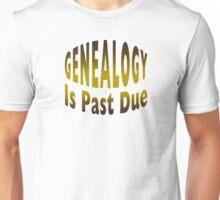 Genealogy Is Past Due Unisex T-Shirt